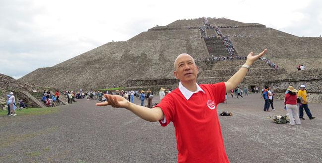 墨西哥太阳金字塔--登天之塔